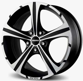 MOMO 4X108 17X7.5 ET25 BLACK KNIGHT BD 65,1