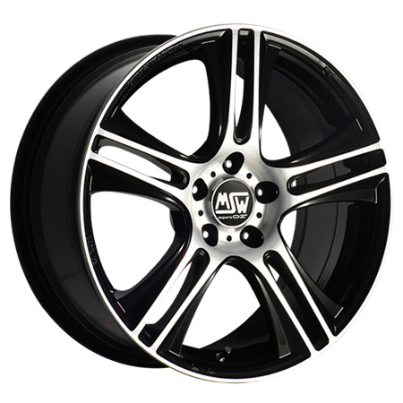 MSW 4X108 16X7 ET16 MSW 11 Black Full Polished 73,1