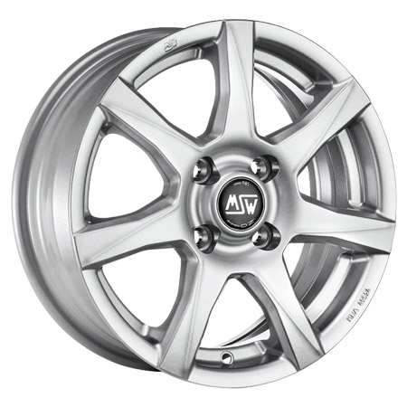 MSW 4X108 16X7 ET25 MSW 77 Full Silver 65,1