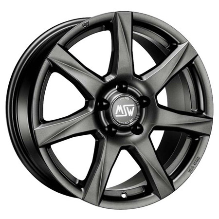 MSW 4X100 15X6 ET35 MSW 77 Matt Dark Grey 63,4