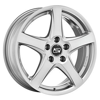 MSW 5X105 16X6.5 ET38 MSW 78 Full Silver 56,6
