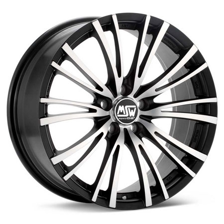 MSW 5X112 19X8 ET48 MSW 20-5 Matt Black Full Polished 73,1