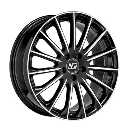 MSW 5X108 19X7.5 ET45 MSW 30 Black Full Polished 73,1