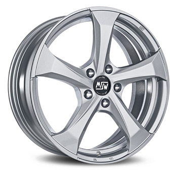 MSW 5X100 17X7.5 ET35 MSW 47 Full Silver 63,4