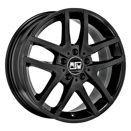 MSW 5X112 17X7 ET35 MSW 28 Gloss Black 73,1