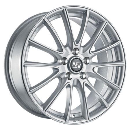 MSW 4X108 15X6 ET22 MSW 86 Full Silver 65,1