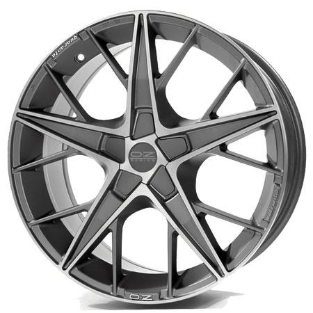 OZ 5X114.3 19X9.5 ET32 QUARANTA Grigio Corsa Diamond Cut 75
