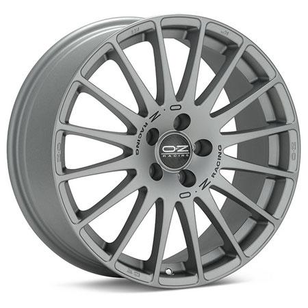 OZ 5X114.3 16X7 ET45 SUPERTURISMO GT Grigio Corsa Black Let 75