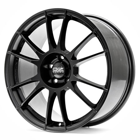 OZ 4X108 17X7 ET16 ULTRALEGGERA Matt Black 75