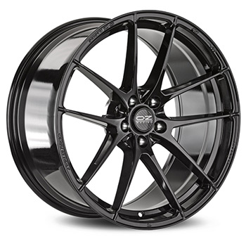 OZ 5X112 17X8 ET48 LEGGERA HLT Gloss Black 75