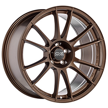 OZ 4X100 17X7 ET30 ULTRALEGGERA Matt Bronze