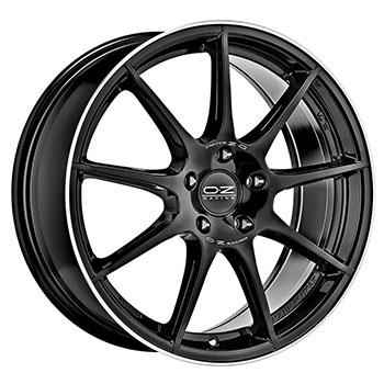 OZ 5X114.3 17X7.5 ET45 VELOCE GT Gloss Black DC 75