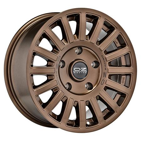 OZ 6X139.7 17X8 ET35 RALLY RAID Gloss Bronze Black Let