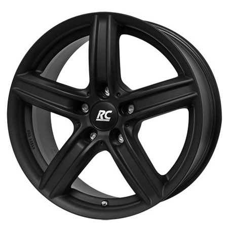 RC 5X120 17X7.5 ET32 RC 21 Dull Black 72,6