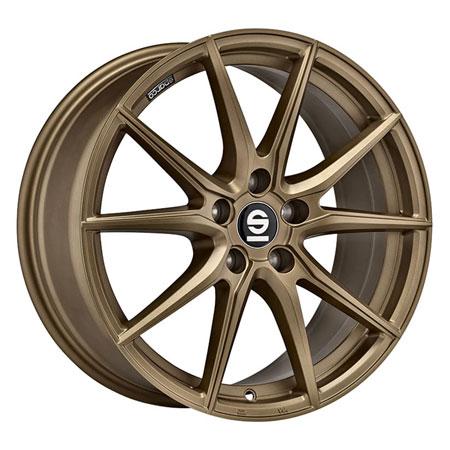 SPARCO 5X100 18X8 ET45 SPARCO DRS Rally Bronze 63,4