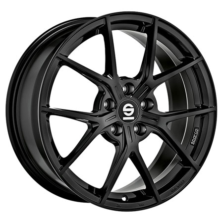 SPARCO 5X110 17X7.5 ET36 SPARCO PODIO Gloss Black 66,1