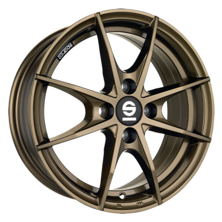 SPARCO 4X100 16X6.5 ET37 SPARCO TROFEO 4 Gloss Bronze 63,3
