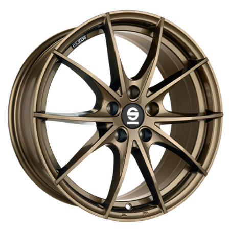 SPARCO 5X120 17X7.5 ET29 SPARCO TROFEO 5 Gloss Bronze 72,6